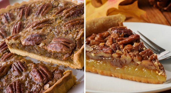 Любимый пирог с орехами