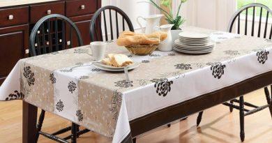 Чем застелить обеденный стол на кухне?