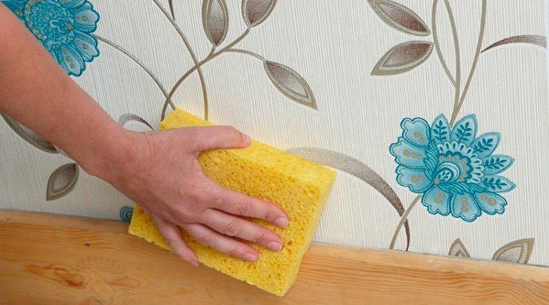 Наводим чистоту: как ухаживать за обоями