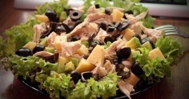 Очень вкусный и питательный салат