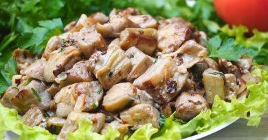 Жареные баклажаны по вкусу как мясо