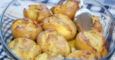 Картофель, запеченный по португальски