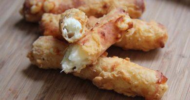 Хрустящие сырные палочки