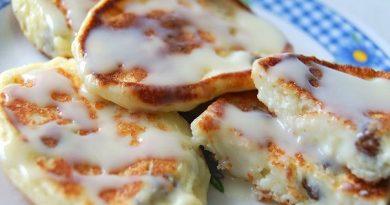 Вкусные сырники из творога с изюмом