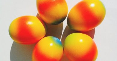 Как покрасить яйца в цвета радуги натуральными красителями