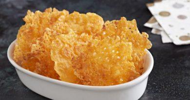 Невероятно вкусные сырные чипсы за 5 минут