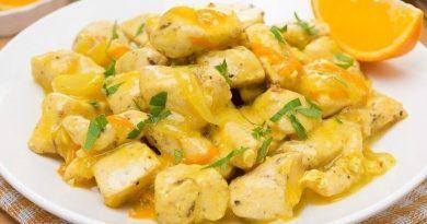 Куриное филе в апельсиновом соусе: идеальный ужин!
