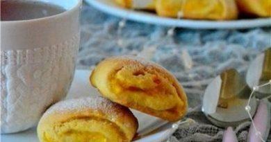 Печенье с апельсиновой начинкой