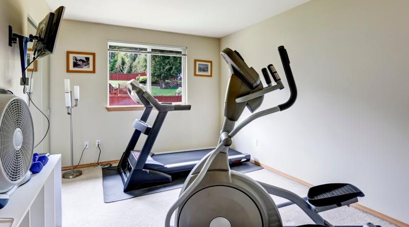 Как оборудовать зону для занятий спортом дома?