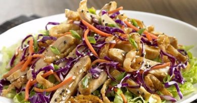 Куриный салат в азиатском стиле