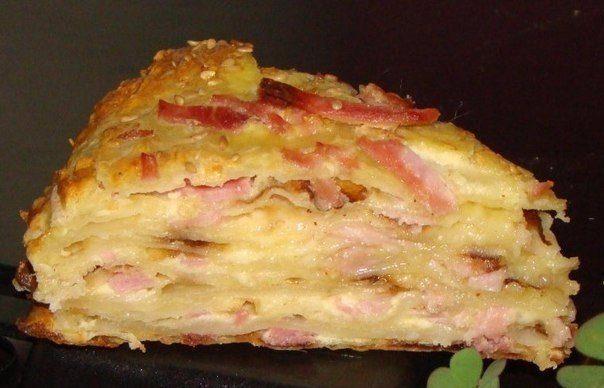Аппетитный сырный пирог