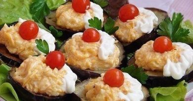 Закуски из баклажанов