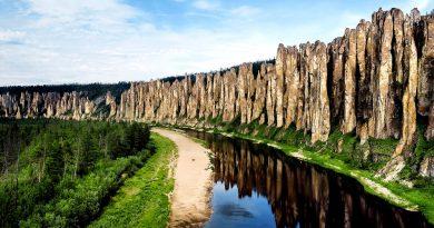 Чем привлекают туристов Ленские Столбы в Якутии