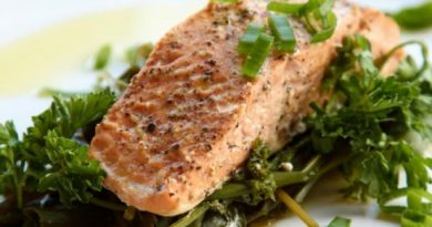 Разгрузочное блюдо: рыба на пару с травами