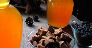 Хлебный квас с изюмом