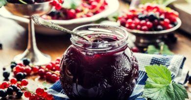 Варенье «Калейдоскоп» из разных ягод за 5 минут