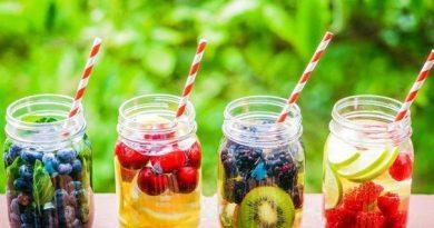 Пьём оздоровительные напитки