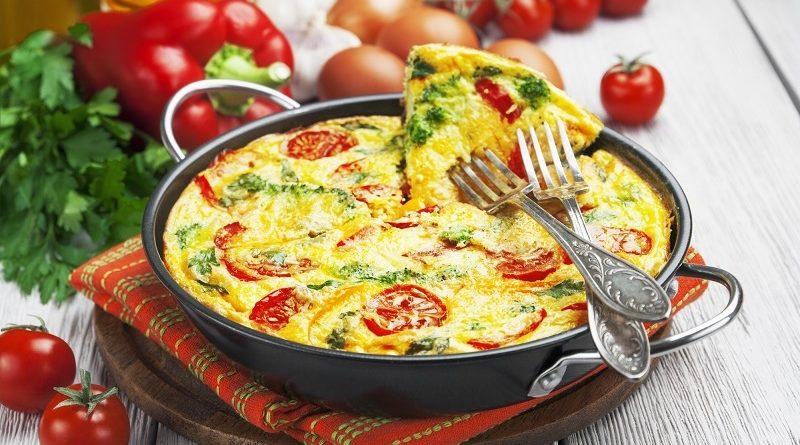 Как приготовить итальянский омлет на завтрак