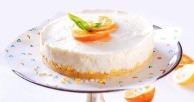 Апельсиновый пирог из йогурта