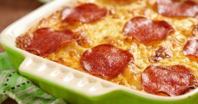 На скорую руку: пицца из картофеля