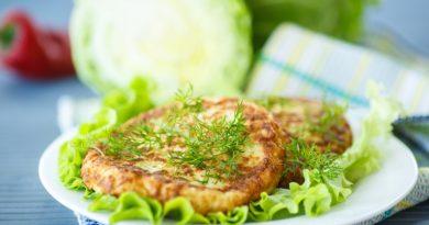 Рецепт капустных котлет с манкой