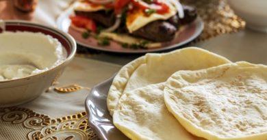 Узбекские лепешки с луком