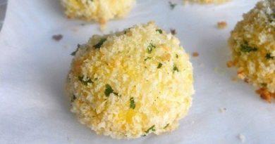 Хрустящие картофельно-сырные шарики