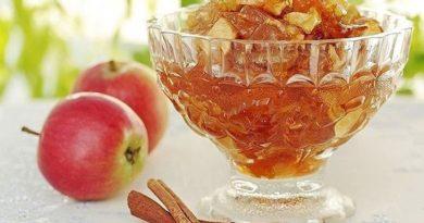 Сухое ароматное варенье из яблок!