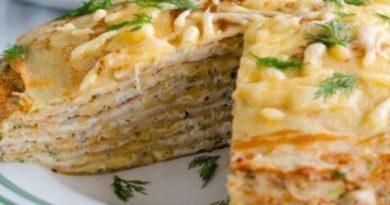 """Блюдо дня: диетический закусочный торт """"Белковый Бум"""""""