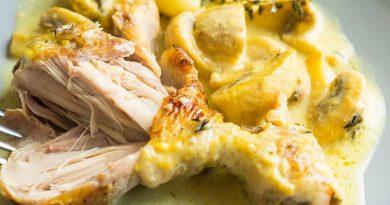 Курица в горчичном соусе