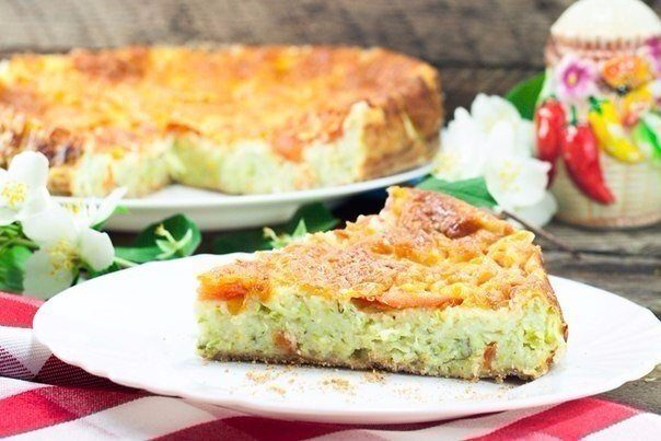 Пирог из кабачков.