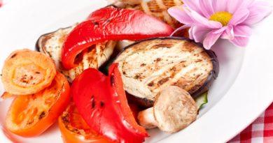 Как запечь овощи в духовке и приготовить витаминную закуску