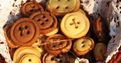 Песочное печенье «Пуговицы» по-домашнему