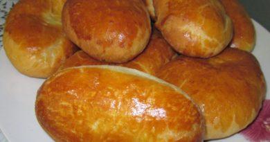 Пирожки на кефире. Бабушкин рецепт