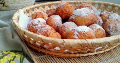 Нежные творожные шарики на сковороде