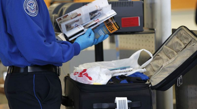 ВРоссии вступили всилу новые правила досмотра багажа