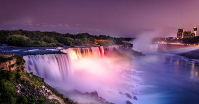 Топ 5 интересных фактов о ниагарском водопаде