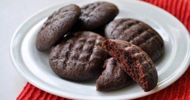 Хрустящее шоколадное печенье для худеющих