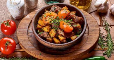 Оджахури - блюдо грузинской кухни