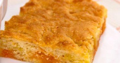 Пирог на апельсиновом мармеладе