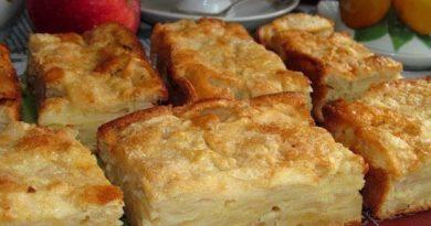Яблочный пирог-суфле
