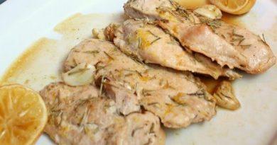 Курица запеченная с чесноком