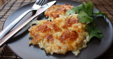 Картофель на сковороде по-французски