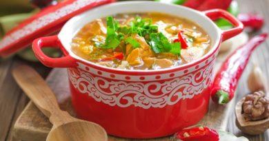 Суп харчо: легкий рецепт