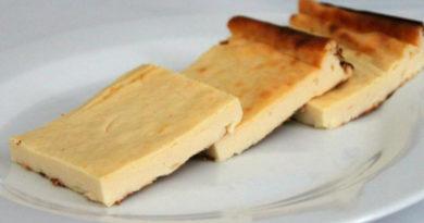 Творожно-банановый десерт. Детки оценят