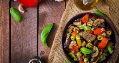 Овощное рагу за 5 минут