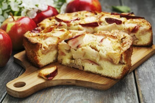 Сладкий яблочный пирог
