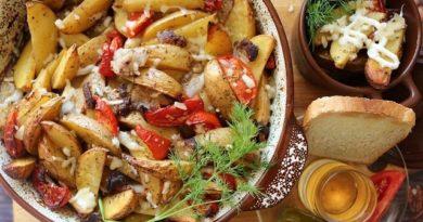 Картофель по-казацки