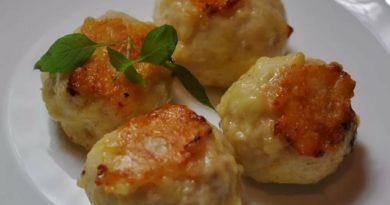 Куриные шарики с сыром - как котлетки, только лучше!