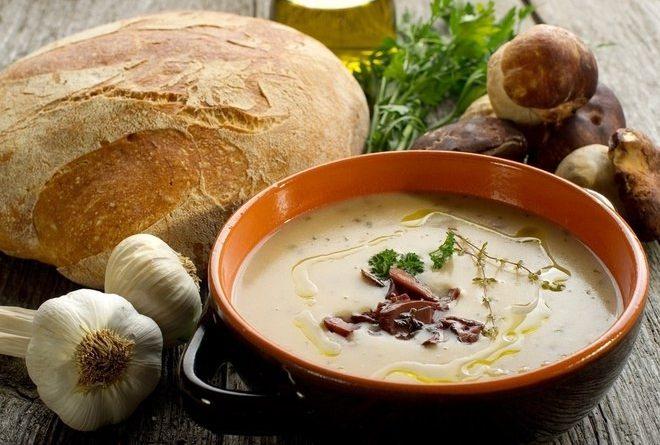 Грибной суп: рецепт по-деревенски